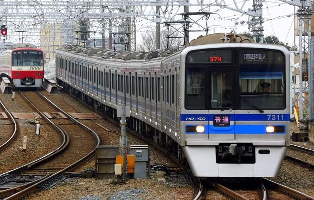 普通HS14印旛日本医大(937N)北総7300形7318F