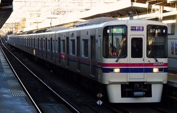 急行S01新線新宿 9000系9748F(1800レ)