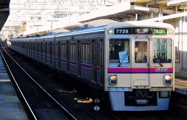 急行KO01新宿 7000系7729F(1106レ)