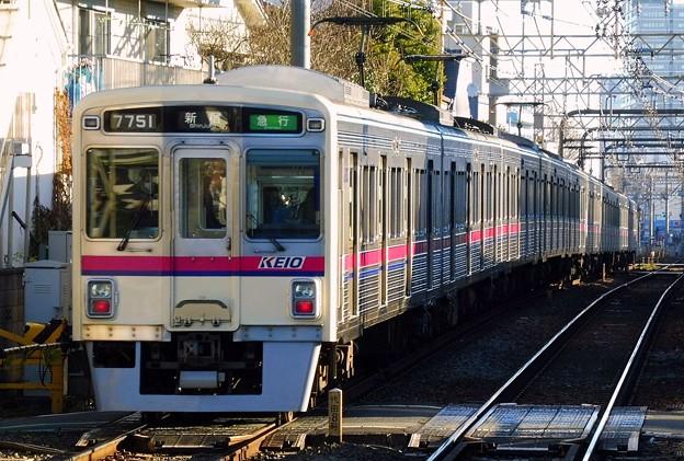急行KO01新宿 7000系7701F-7806F(1104レ)