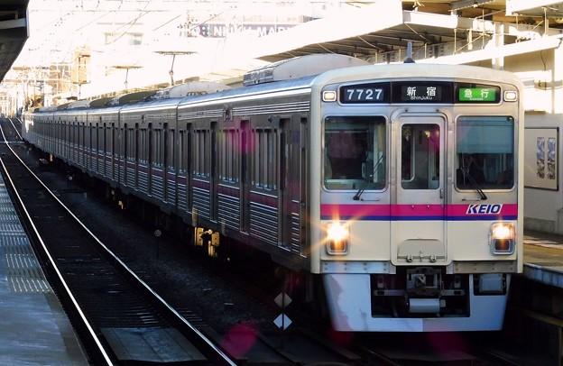 急行KO01新宿 7000系7727F(1102レ)