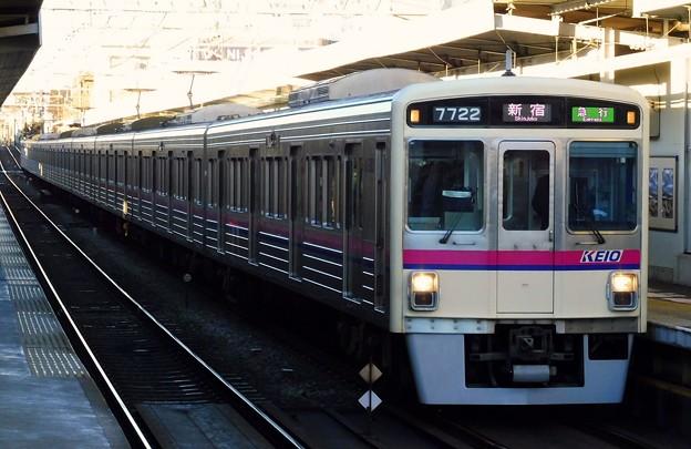 急行KO01新宿 7000系7722F(1100レ)