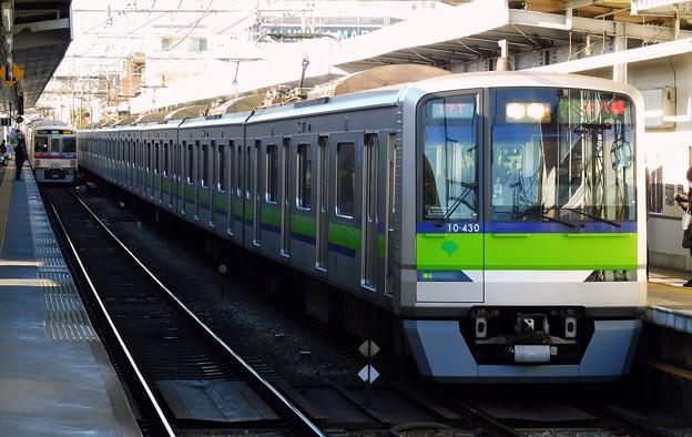 快速S21本八幡 都営10-300形10-430F(2812レ)