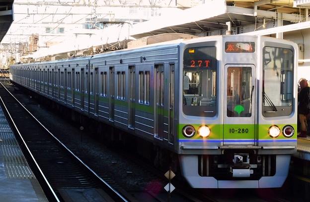 区間急行S21本八幡 都営10-000形10-280F(4822レ)