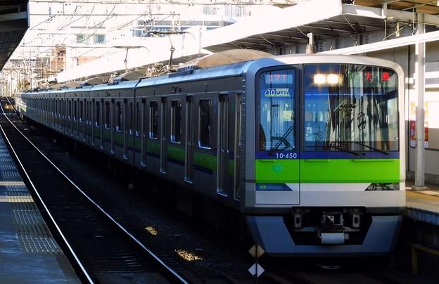 区間急行S15大島 都営10-300形10-450F(4818レ)