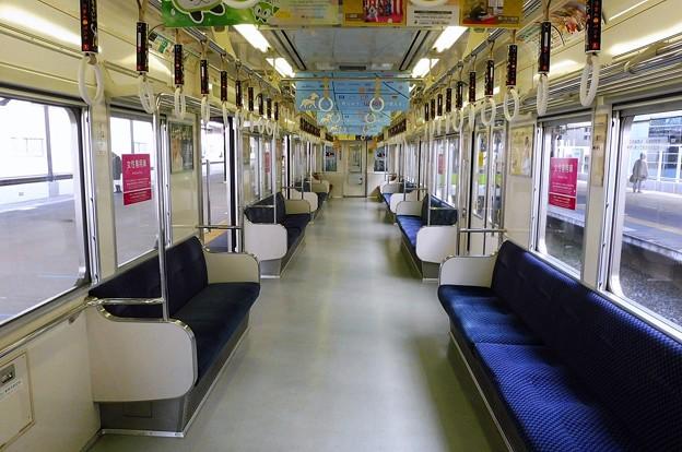 Photos: 都営新宿線10-000形(7次車)車内全景