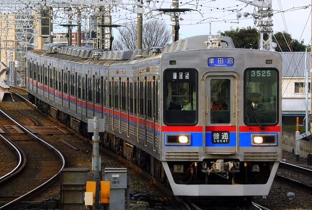 普通KS26津田沼 3500形3528F-3508レ(705レ)