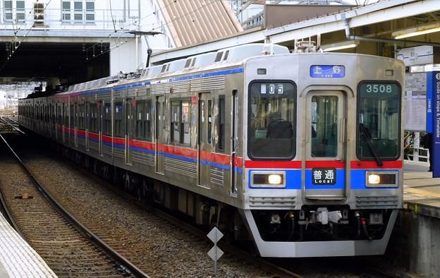 普通KS01上野 3500形3508F-3528F(904レ)