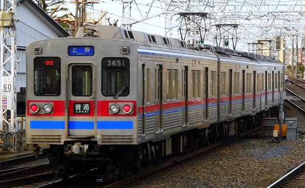 普通KS01上野 3600形3658F(792レ)