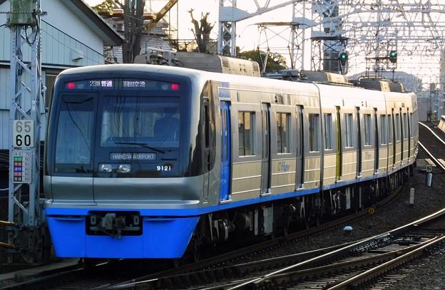 北総9100形9128F 普通KK17羽田空港(1422N)