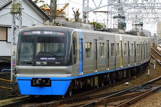 北総9100形9118F 普通KK17羽田空港(1324N)