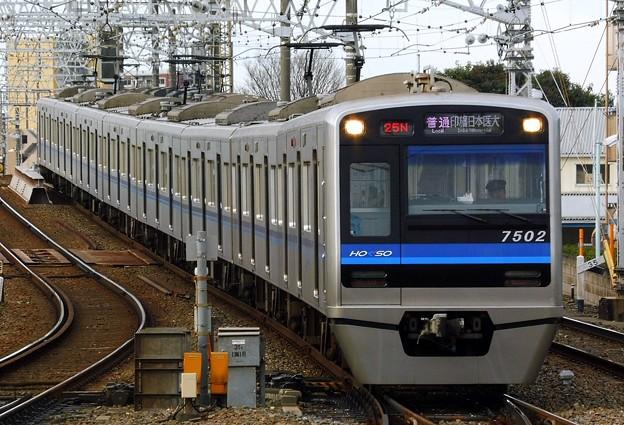 普通HS14印旛日本医大(825N)北総7500形7502F