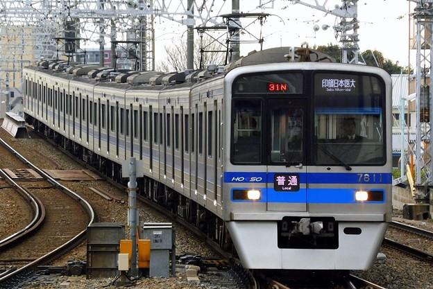普通HS14印旛日本医大(1331N)北総7300形7818F