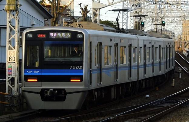 北総7500形7502F 普通A01西馬込(624N)