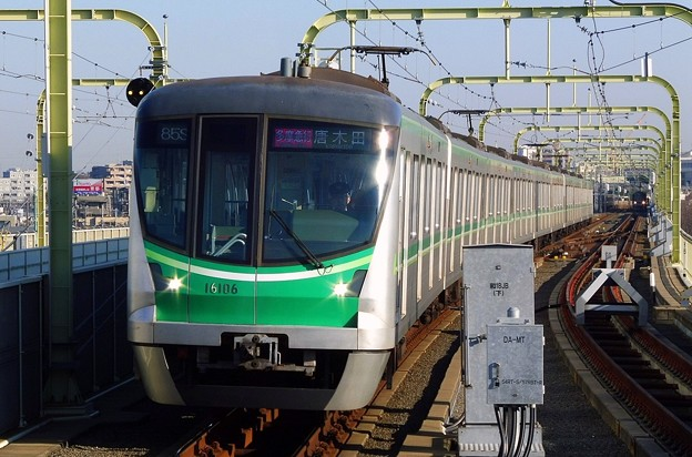 多摩急行OT07唐木田 東京メトロ16000系16106F(3705レ)