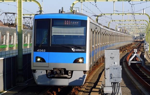 快速急行OE13藤沢(3503レ)4000形4062F