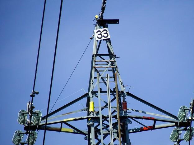聖湖06「高圧鉄塔」