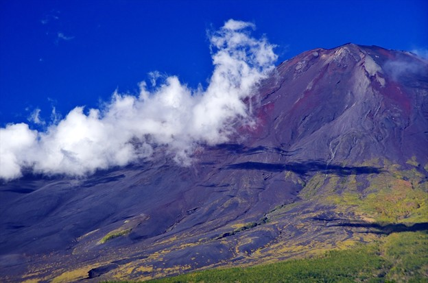 Photos: 2014富士山麓の秋65「台風一過」