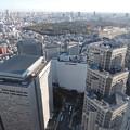 都庁展望室からの展望