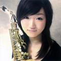写真: 安井寛絵 やすいひろえ サックス奏者  Hiroe Yasui