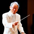 写真: 下平千儀 しもひらちよし 指揮者( 長野県 ) トロンボーン奏者   吹奏楽指導者  Chiyoshi Shimohira