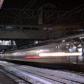 雪の駅。(北陸本線:富山県)