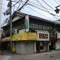 写真: 南海線住吉大社駅前にある古い建物