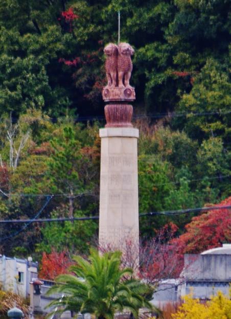 小豆島の獅子塔?