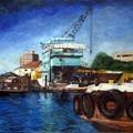 写真: 造船所