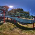 日本平運動公園 すべり台 360度パノラマ写真(1) HDR