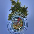 日本平運動公園 すべり台 Little Planet(2) HDR