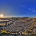島田市 蓬莱橋 360度パノラマ写真(1) HDR