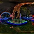 写真: 2015年11月20日 青葉シンボルロード イルミネーション 360度パノラマ写真(1) HDR