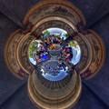 「毘沙門天大祭の日」 富士市吉原 香久山妙法寺 Little Planet(2) HDR