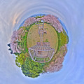 Photos: 2016年4月9日 谷津山 桜 Little Planet(3) HDR Panorama