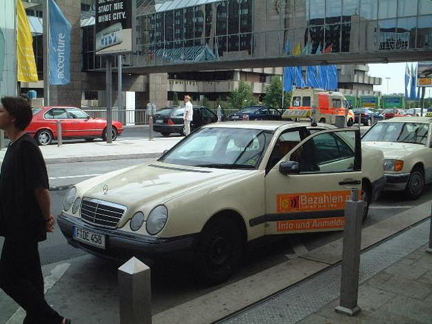 フランクフルトのタクシー