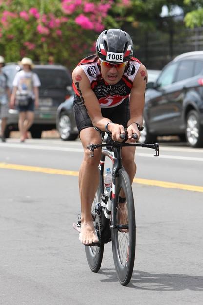 写真: bike finish