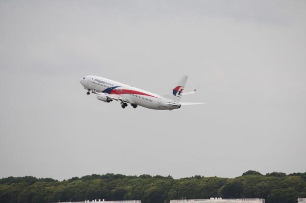 マレーシア航空 B737 (2)