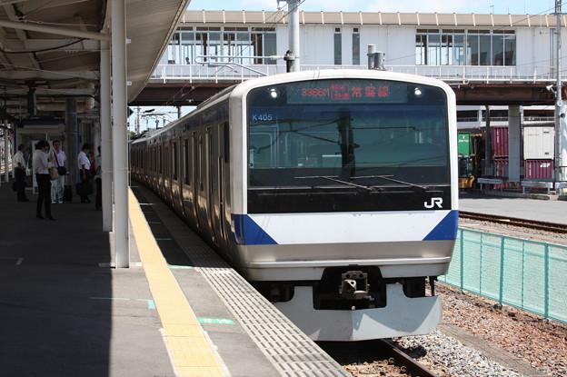 E531系K405編成 3366M 特別快速上野行