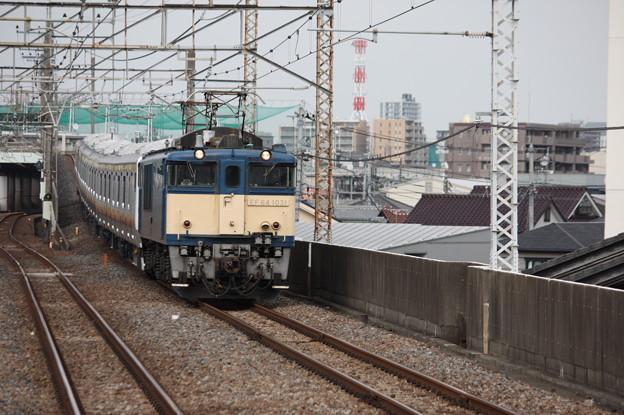 南武線E233系8000番台N5編成 配給輸送 1
