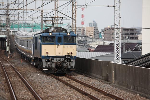 南武線E233系8000番台N5編成 配給輸送 3
