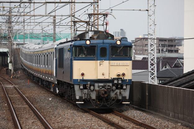 南武線E233系8000番台N5編成 配給輸送 6