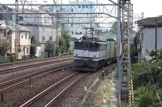 74レ EF65 2081牽引