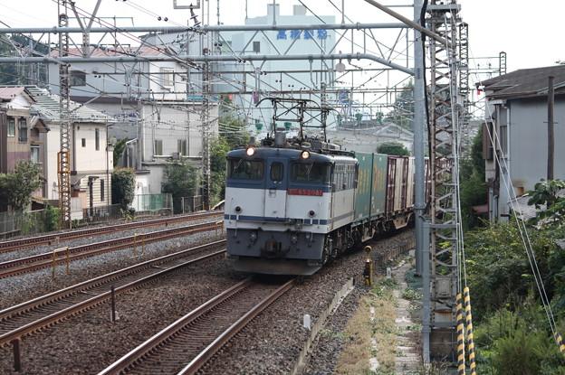 74レ EF65 2081牽引 2