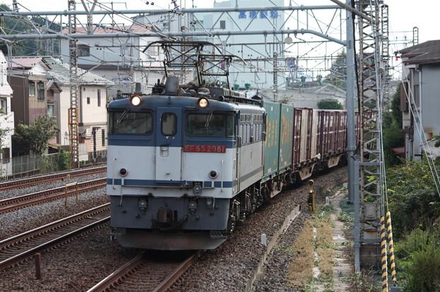 74レ EF65 2081牽引 5