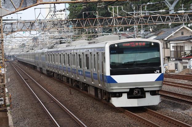 常磐線 E531系K414編成 3390M 特別快速上野行