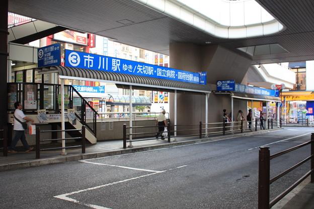 松戸駅西口 京成バス 3番のりば
