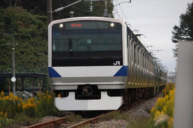 Photos: E531系K406編成 KY入場回送 6