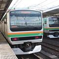 写真: 上野東京ラインE231系1000番台U51編成・湘南新宿ラインE231系1000番台S13編成