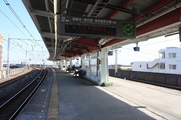 小菅駅ホーム